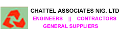 Chattel Associates Nigeria Limited-Engineers, Contractors and General Suppliers